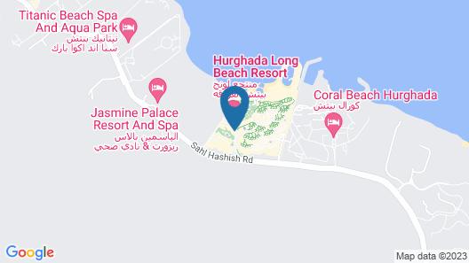 Hurghada Long Beach Resort - All Inclusive Map