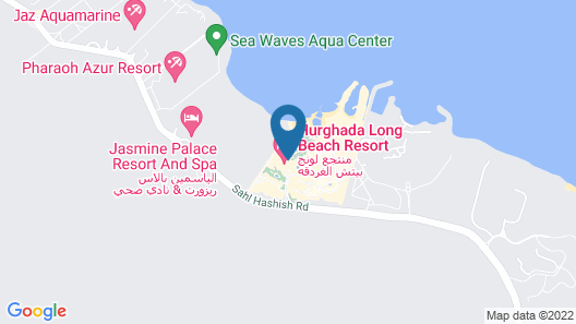 Long Beach Resort Map