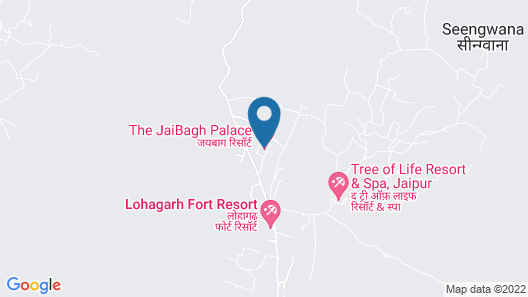 The Jaibagh Palace Map