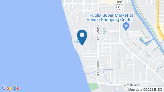 Venice Villas on the Beach Map