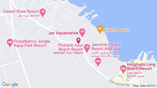 Jaz Aquamarine Resort - All Inclusive Map