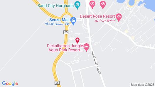 Jungle Aqua Park - All Inclusive - Families & Couples Only Map
