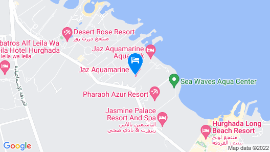 Pharaoh Azur Resort Map