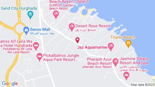 Golden Paradise Aqua Park City Map