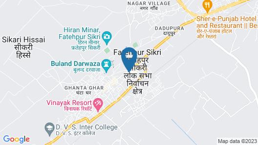 Hotel Goverdhan Tourist Complex Map