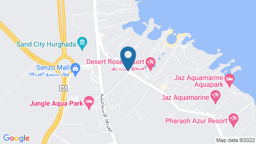 Dana Beach Resort - Families & Couples Only Map