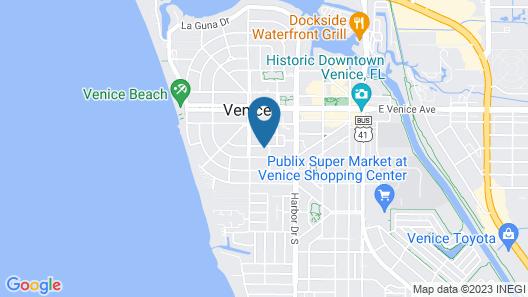 Tropical Villas of Venice Beach Map