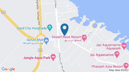 SUNRISE Garden Beach Resort Map