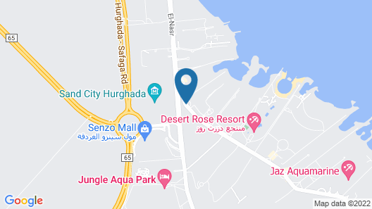 Sentido Mamlouk Palace Resort - Select Map