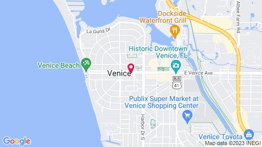 Venice Beach Villas Map