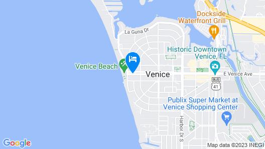 Inn at the Beach Map