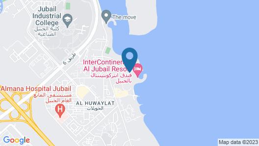 Intercontinental Al Jubail, an IHG Hotel Map