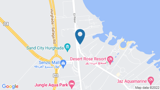 SUNRISE Crystal Bay Resort - Grand Select Map