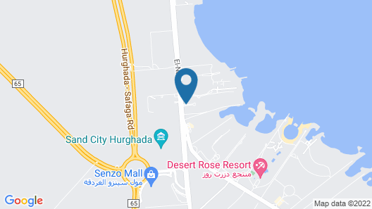 Ali Baba Palace - All-inclusive Map