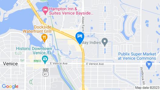 Ramada by Wyndham Venice Hotel Venezia Map