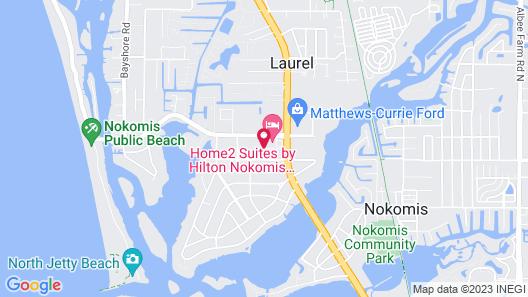 Home2 Suites by Hilton Nokomis Sarasota Casey Key Map
