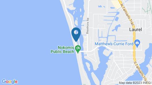 Escape Resort & Marina Map