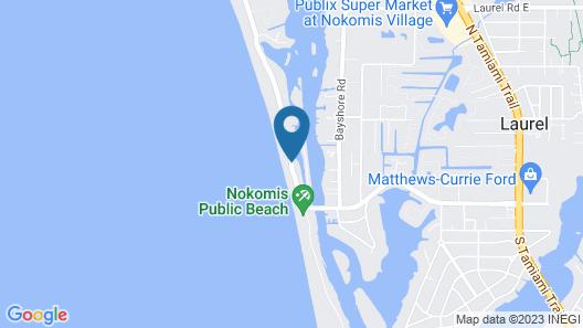 On the Beach Casey Key Map