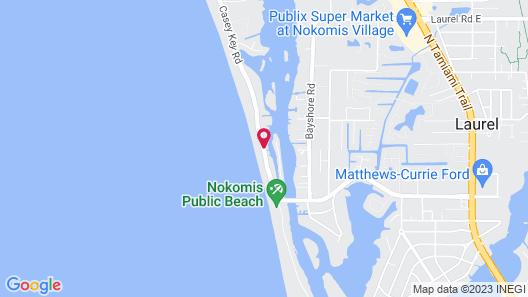 Casey Key Resort - Gulf Shores Map