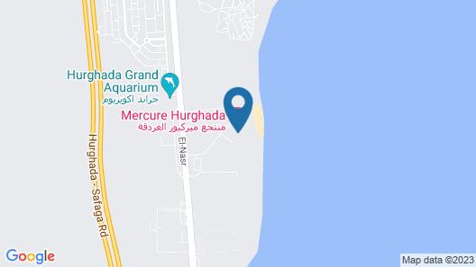 Mercure Hurghada Hotel Map