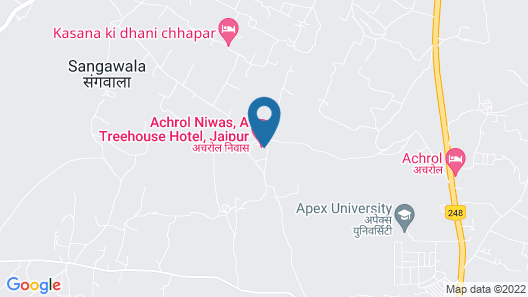 Achrol Niwas A Treehouse Hotel Jaipur Map