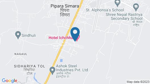Hotel Ichchha Map