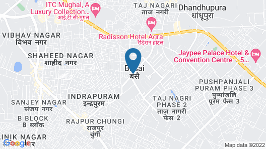 DoubleTree by Hilton Agra Map