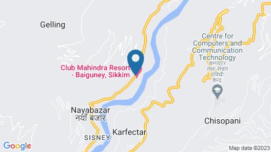 Club Mahindra Baiguney Map