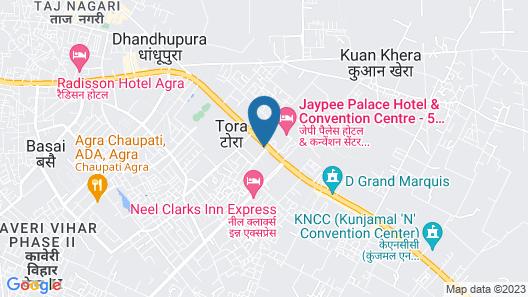 Hotel Royale Regent Map