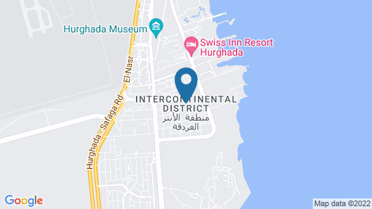 The Bosque - Hotel Hurghada Map