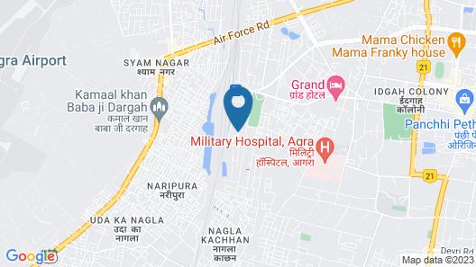Ranjit Hotel Map