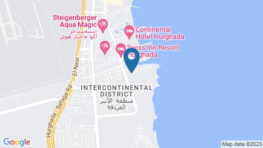 Samra Bay Hotel & Resort Map
