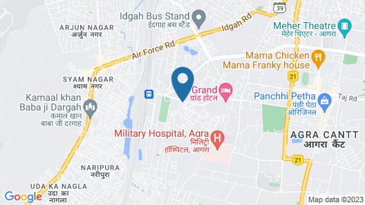 OYO 40402 Hotel Kirandeep Map