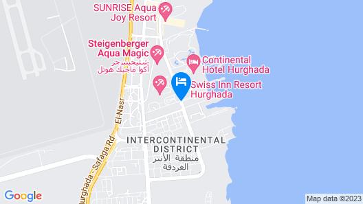 Jaz Casa Del Mar Resort Map