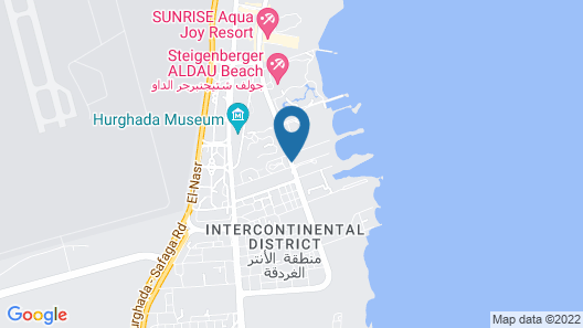 Swiss Inn Resort Hurghada Map