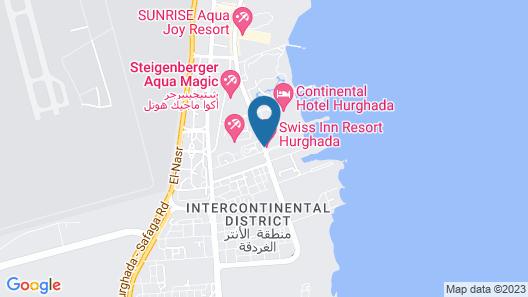 Swiss Inn Resort Hurghada Map