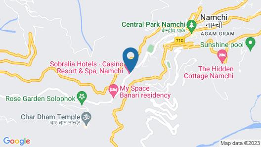 Sobralia Resort & Spa Map