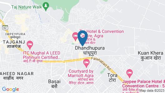 Crystal Inn Map