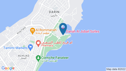 Danah Al-Jubail Suites Map
