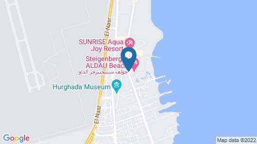 Steigenberger Pure Lifestyle Adults Only - All Inclusive Map