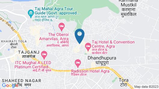 Hotel Atulyaa Taj Map