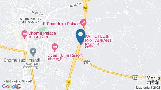 K V HOTEL & RESTAURANT Map