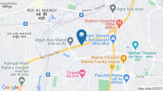 Hotel Riya Palace Map