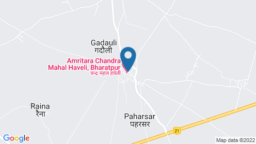 Amritara Chandra Mahal Haveli Map