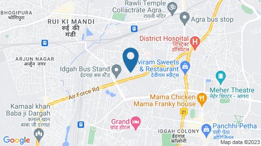 Hotel Taj Homestay Map