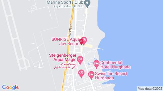 SUNRISE Aqua Joy Resort Map