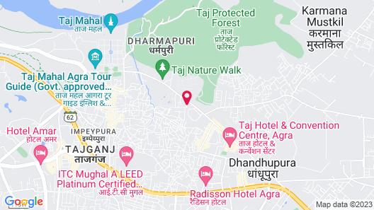 Optimum Sheela Inn @ Taj Map