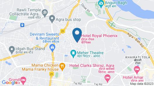 HOTEL R P Map