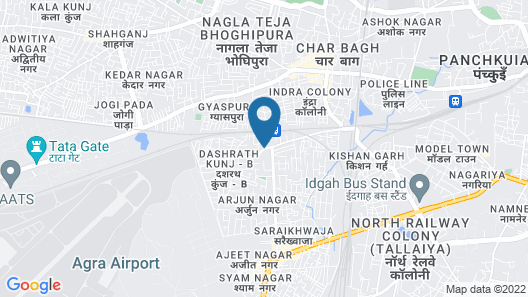 OYO 10961 near Railway Station Map