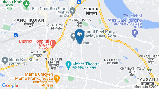 Great Agra Travel Map
